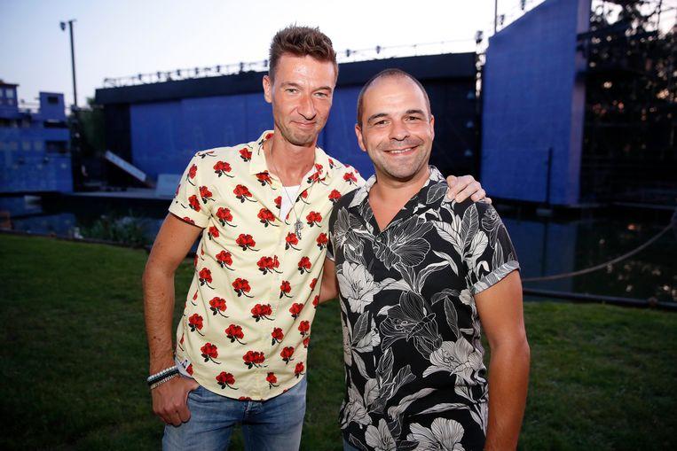 Ook Sam Verhoeven bracht zijn partner mee.