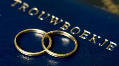 Trouwen in de lift in Kortrijk: 315 huwelijken in 2018!