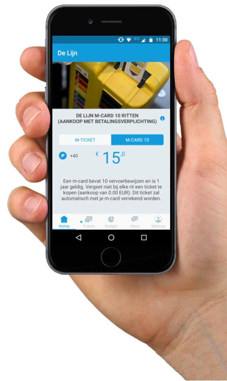 De Lijn wil zijn aanbod aan digitale vervoersbewijzen dit jaar nog verder uitbreiden. Na de sms-tickets en m-tickets voor één rit en de digitale tienrittenkaart m-card, zitten er nog digitale dagpassen en een digitaal ticket voor evenementen in de pijplijn.