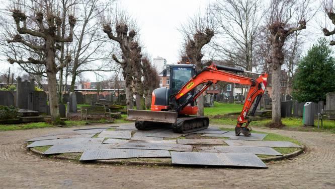 Oude begraafplaats langs Wilrijkse Jules Moretuslei krijg opknapbeurt