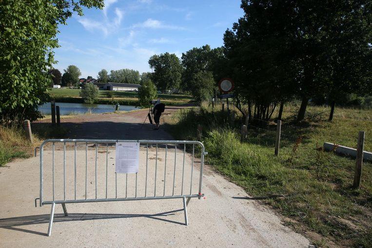 De Zuunbeek en de wachtbekkens net buiten het centrum zijn voorlopig afgesloten.