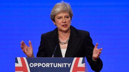 """Theresa May: """"Wij zijn niet bang om EU indien nodig zonder akkoord te verlaten"""""""