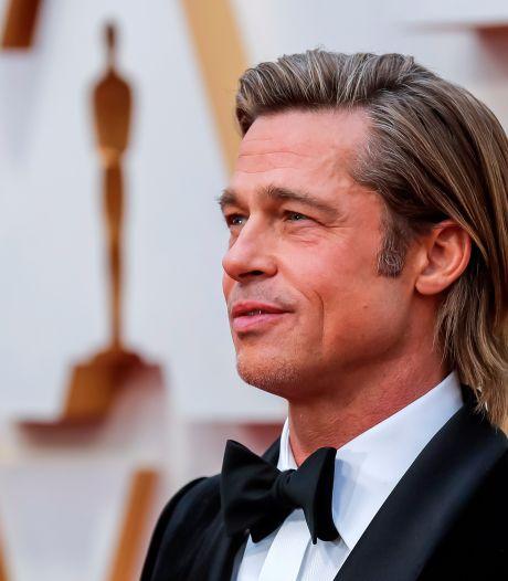 'Brad Pitt en vriendin na drie maanden uit elkaar'