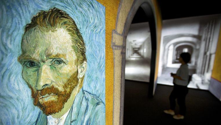 Zelfportret van Vincent van Gogh. Beeld ap