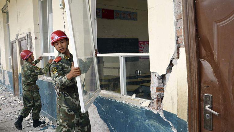Ook op 24 mei werd de Chinese provincie Yunnan getroffen door een aardbeving.