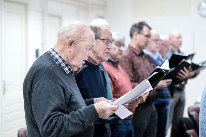 De laatste repetities van het koor.