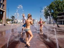 Hengelose fonteinen en een hittegolf: dat is pas een fijne combinatie