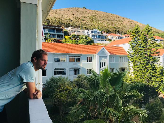 Istvan Bakx in Zuid-Afrika.