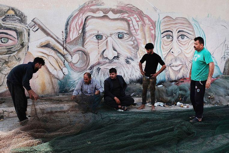 Beeld uit Gaza. Beeld Getty Images