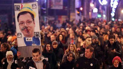 """Oppositie in Servië dreigt met verkiezingsboycot: """"Wij willen geen deel zijn van schijndemocratie"""""""