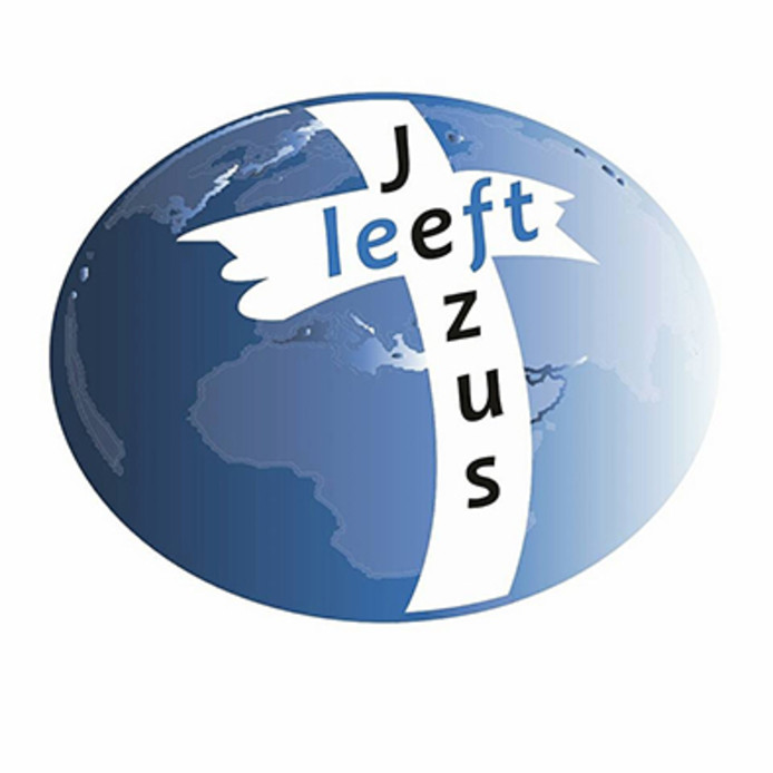 Het logo van Jezus leeft.