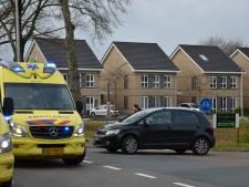 Auto en motor met elkaar in botsing in Vorden: twee gewonden