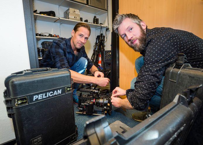 Videobedrijf Shoot the Rabbit: Bart Leferink (links)  & Marcel Buunk (rechts)