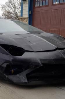 Vader en zoon bouwen met 3D-printers voor een schijntje peperdure Lamborghini