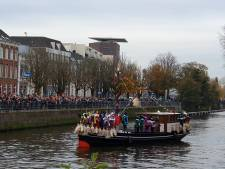 Sint aangekomen in het land, direct doorgereisd naar Breda