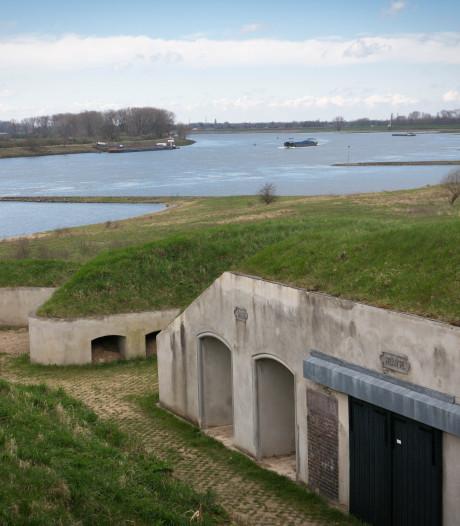 Fort Pannerden krijgt geld om het gras op het dak te maaien