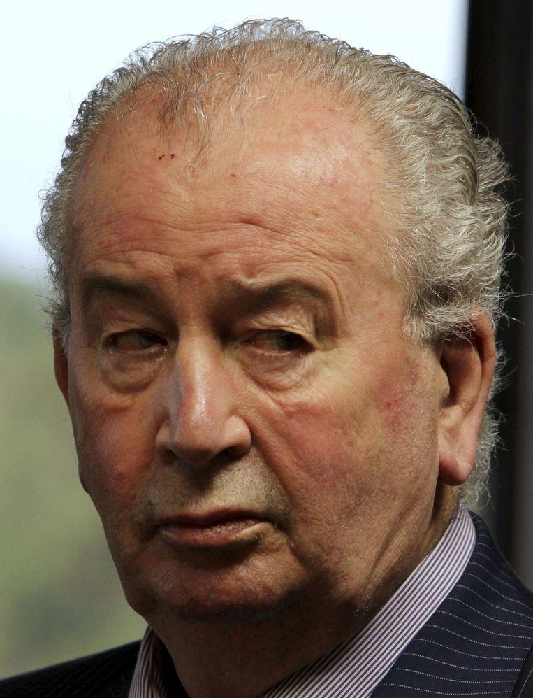 Julio Grondona, destijds Argentijns bondsvoorzitter.