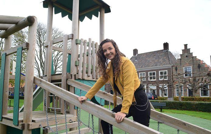 Emma van Mourik wil mensen begeleiden bij een gezonde levensstijl.