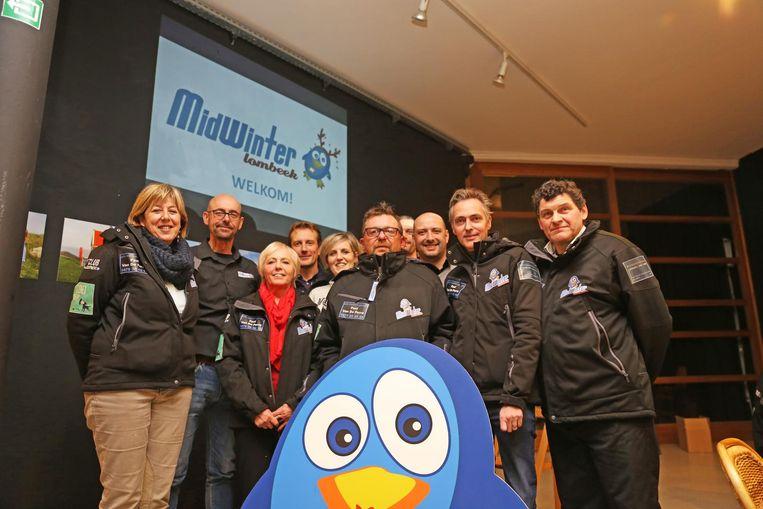 De organisatoren van Midwinter Lombeek.