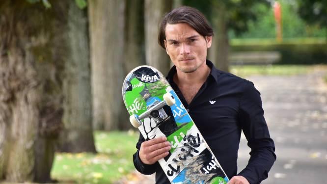 Geen straf voor skater Franky (39) die mondmasker niet droeg, noch voor agent die klap uitdeelde
