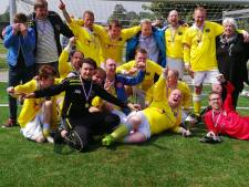 G-voetballers van Walcheren zijn voor de vierde keer op rij de beste
