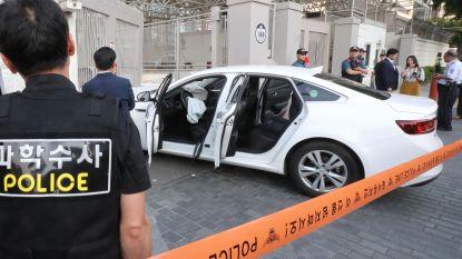 Auto met gaspatronen aan boord rijdt in op Amerikaanse ambassade in Seoel