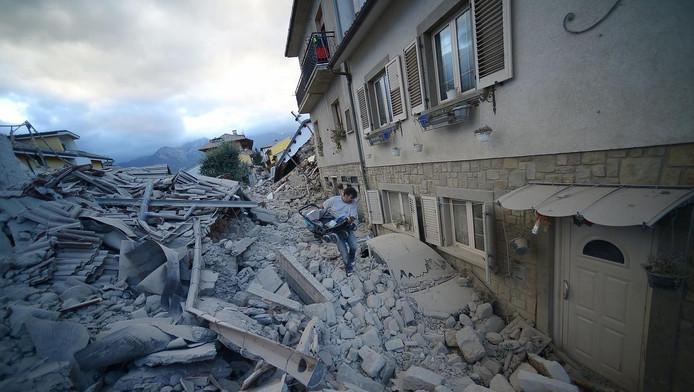 Het hart van Italië werd vannacht opgeschrikt door een aardbeving.