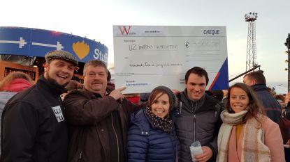 Jong VLD Oosterzele schenkt 3.000 euro aan UZ Intens
