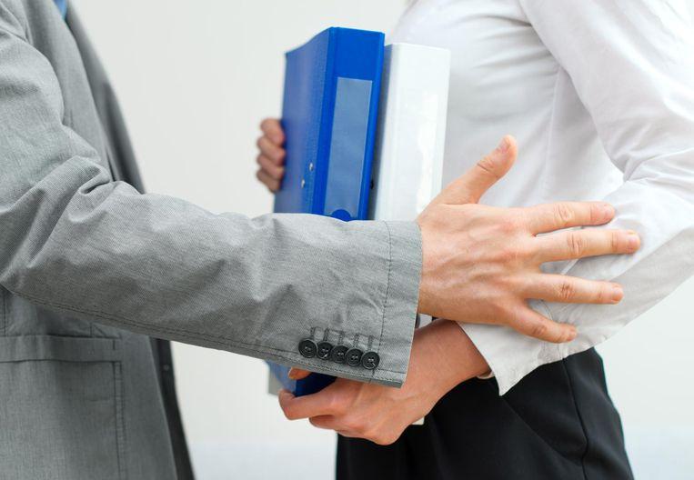 Seksuele intimidatie op de werkvloer. Beeld RV