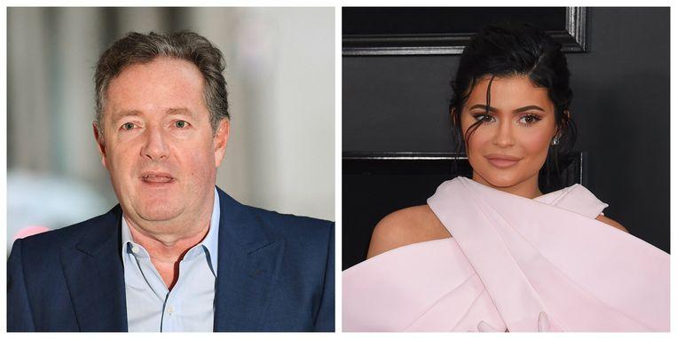 Piers Morgan en Kylie Jenner
