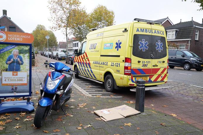 Ongeval met scooter in Valkenswaard.