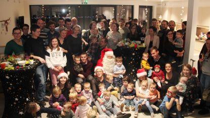 Kerstman  blijft vriend aan huis in kinderdagverblijf Pamperbroekje