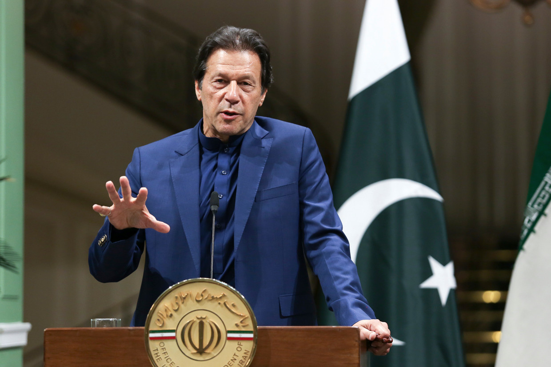 De Pakistaanse premier Imran Khan
