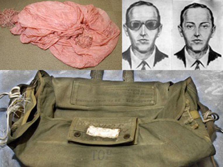 Eerder al werden spullen onderzocht die D.B. Cooper had achtergelaten op het vliegtuig.