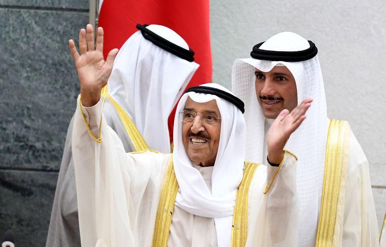 Sjeik Sabah al-Ahmad al-Sabah, vorig jaar.  Beeld EPA