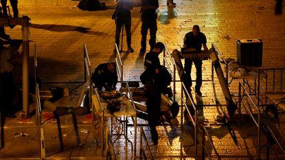 Israël verwijdert omstreden metaaldetectoren Tempelberg