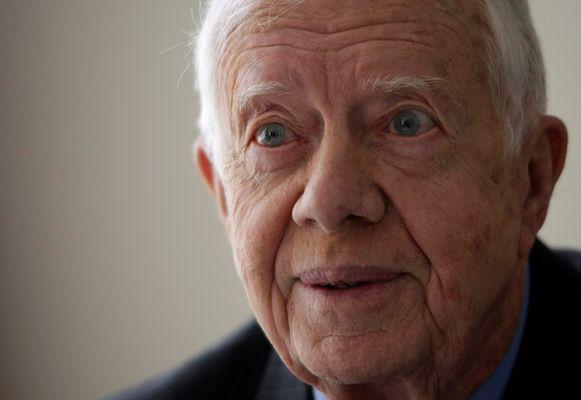 Jimmy Carter in 2009.