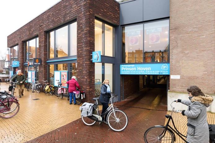 Woon- en winkelcomplex Prinsen Hoven in het centrum van Steenwijk.