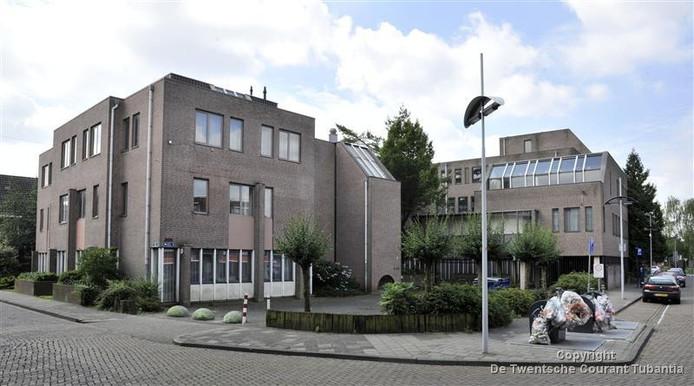 Opvangcentrum voor asielzoekers aan de Willemstraat.