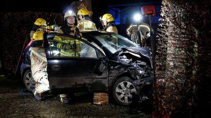Pizzakoerier gewond bij ongeval
