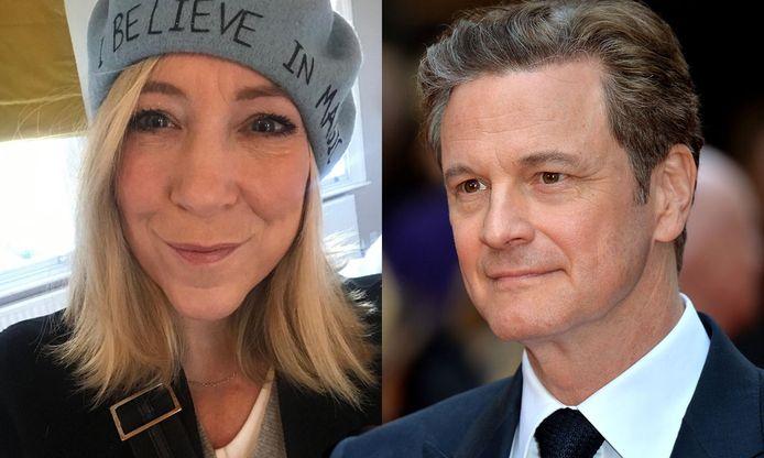 Joanna Gosling en Colin Firth