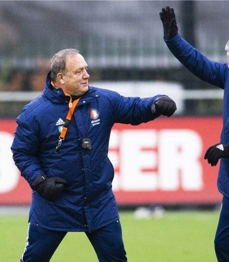 Feyenoord kan overwinteren in Europa League, maar het gaat over Advocaat en mysterie rond Haps