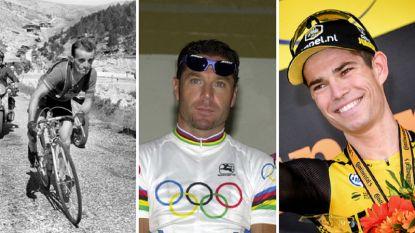 Wout van Aert elfde renner die wereldkampioen veldrijden werd én een rit in de Tour won
