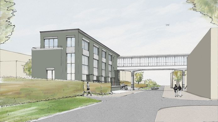 KRAGT Vastgoed hoopt in april te kunnen beginnen met de bouw van het door hen ontwikkelde Bruggebouw.
