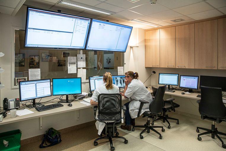 De spoedeisende hulp van het Bethesdaziekenhuis in Hoogeveen. Per 6 april sluit de afdeling.  Beeld null