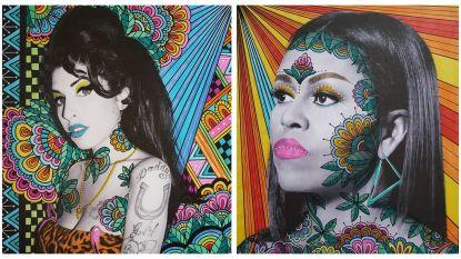 Straf: kunstenares maakt prachtige portretten van invloedrijkste vrouwen ooit