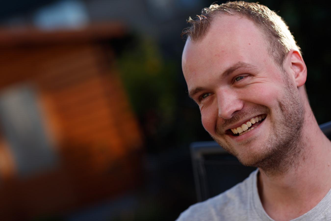 Boer zoekt Vrouw-deelnemer Kevin Rademaker uit Oud Gastel. FOTO MARCEL OTTERSPEER