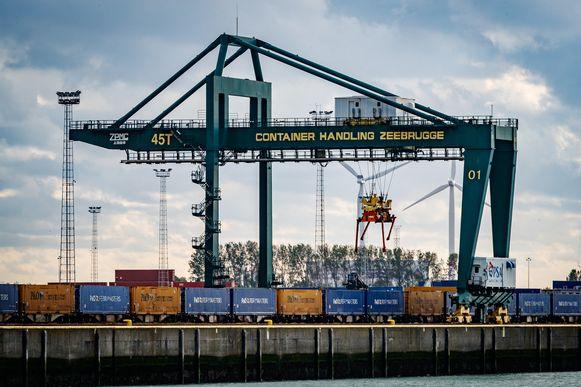 Beeld ter illustratie, haven Zeebrugge.