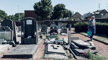 Vandalen slaan toe op kerkhof Zichen-Bolder, gemeente dient klacht in tegen onbekenden