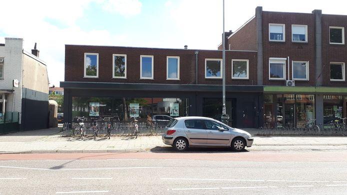 Het filiaal van Action aan de Groenestraat in Nijmegen, een paar weken voor de opening in augustus.